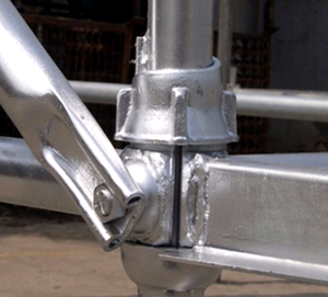 Hot dipped galvanized cuplock system scaffolding for wholesale