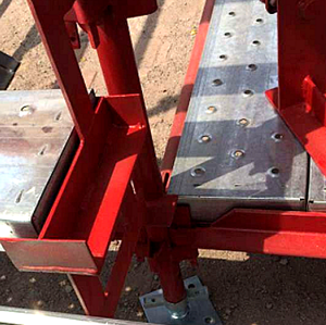 Scaffolding for construction Australian kwikstage system