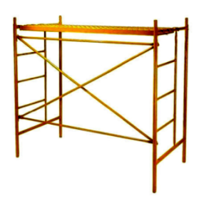 Painting surface Q235 steel H Movable Scaffolding H Frame