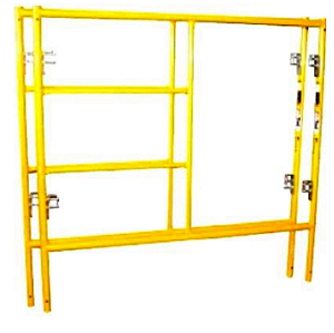 Safety Step Ladder Building Construction Easy Installation Walk Though Scaffolding H Frame Scaffold