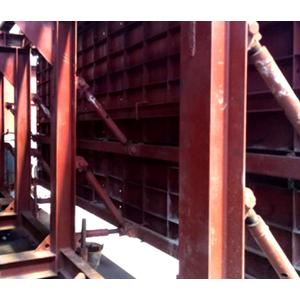 Concrete steel tunnel formwork