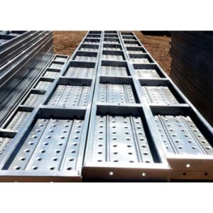 Galvanized Scaffold Board Steel Scaffold Plank Frame Scaffolding System