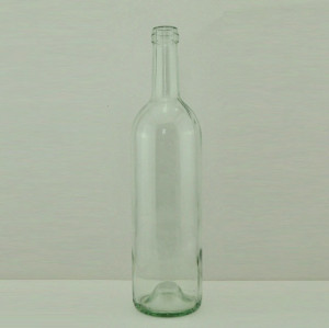 empty 750ml glass wine bottle red wine bottle in stock for sale #1005