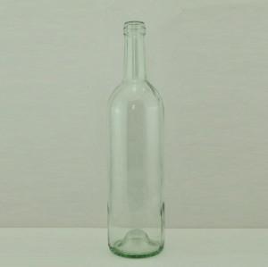 empty 750ml glass wine bottle red wine bottle in stock for sale #1005