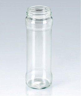 370ml Wide mouth glass Jam bottle jam glass jar