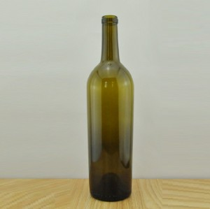 750ml Tapered Sides Bordeaux Wine bottles in Stock for Sale Antique green wine bottles wholesale