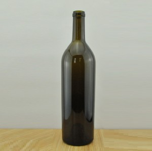 750ml Heavy Wine Bottle Premium Wine Glass Bottle Wholesale 880g Wine Bottle