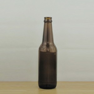 330ml amber colored beer glass beverage glass bottle