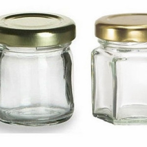 mini honey glass jar 25ml /25g