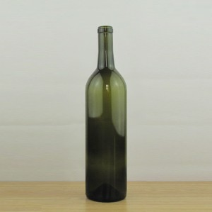 750ml Glass Wine Bottle dark green wine bottles 75cl empty wine bottle