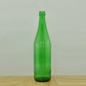 HOT SALE 640ml emerald green glass beer bottle for sale Empty Beer Bottles Wholesale