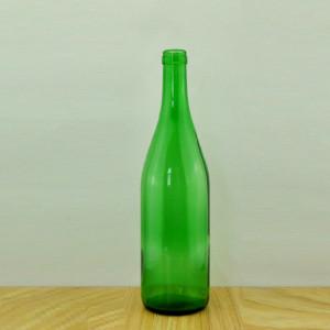 750ml Glass Wine Bottle Burgundy Wine Bottle Flat Base Wine Bottle Wholesale