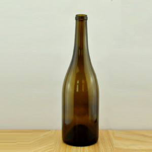 750ml cork finish burgundy glass wine bottles wholesale