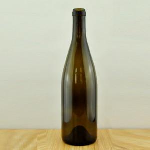 750ml antique green burgundy bottle/empty wine glass bottle Alibaba China#2120