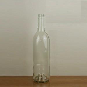 Safty bordeaux glass bottles china manufacturer