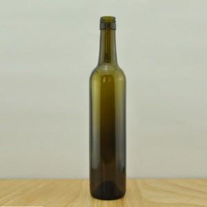 500ml antique green screw top bordeaux bottle wine glass bottle wine bottle glass