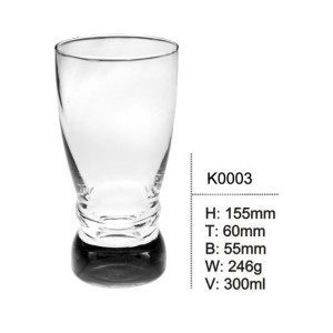 300ml water cup glass cup china