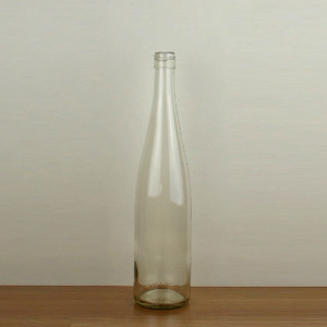 Factory cheap price 750ml 75cl Dry white wine empty glass bottle Hock wine bottle