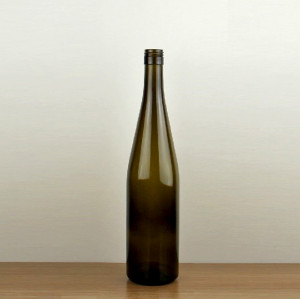 75cl Hock wine bottle with screw cap wholesale