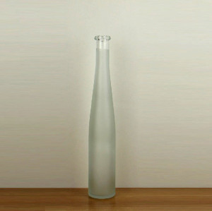 375ml frosted glass wine bottle bordeaux bottle ice wine bottle
