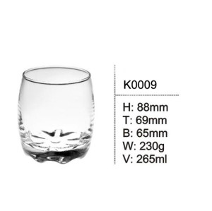Hot sale glass cup drinking glass cup