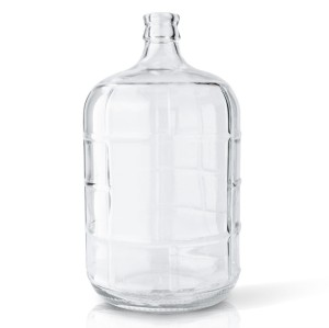 3 gallon Flint Round Glass Carboy