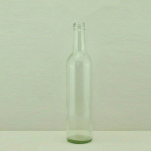 500ml clear glass bottles with screw top empty glass bottle wholesale 50cl glass bottle