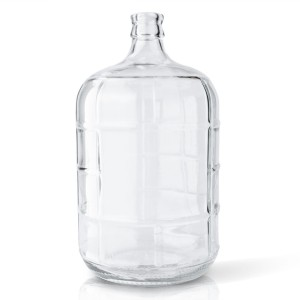 5 gallon Flint Round Glass Carboy