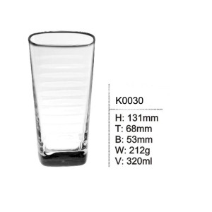 Glass Tumbler Cups Drinking glass 320ml