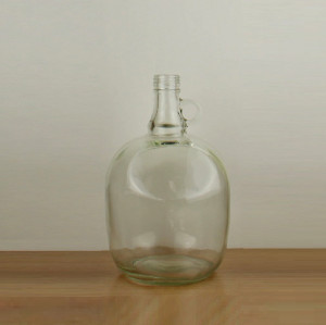 Large capacity 3 liters transparent glass jar