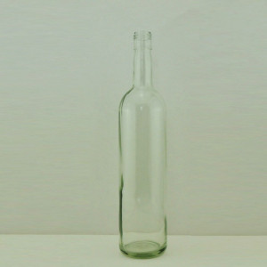 750ml clear bordeaux screw cap empty wine glass bottle red wine bottle
