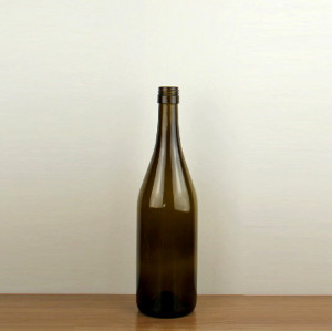 750ml Screw Cap Burgundy Wine Bottle Stock Sale