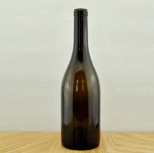 750ml antique green heavier burgundy wine bottle stock for sale glass wine bottle with corks 2236