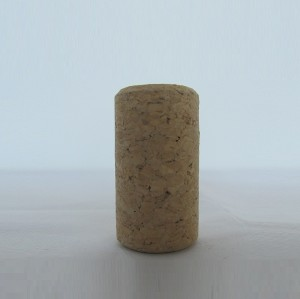 Glass bottle Synthetic cork