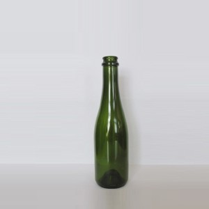 375ml champagne glass bottles Small glass champagne bottles for sale #3003