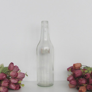 empty beverage glass bottle for sale