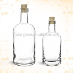 Extra white flint 750ml liquor bottles Vodka glass bottle