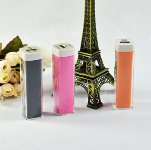 Wholesale - Portable External USB 2600 mAh Battery Charger Power Bank For iphone Mobile Phone Cellphone Samsung HTC