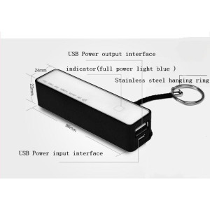 Sweet Smell 2600mAh Power bank 2600mAh USB Power Bank Portable External Battery Charger for iphone5 4S 4 3G Samsung galaxy battery charger