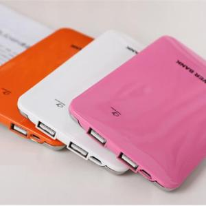 USB Power Bank External Rechargeable Battery Backup Charger 2600mAh For 4s 5 i9500 i9300 cellphone