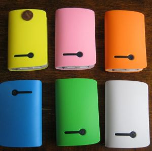 Wholesale - Portable External USB 8000 mAh Battery Charger Power Bank For iphone Mobile Phone Cellphone Samsung HTC