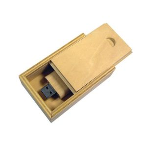 Environmental protection wood USB flash drive packing