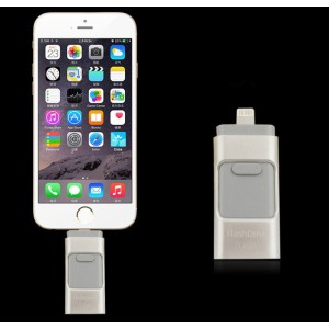 Newest Retractable OTG USB flash drive for Iphone, iFlash Drive