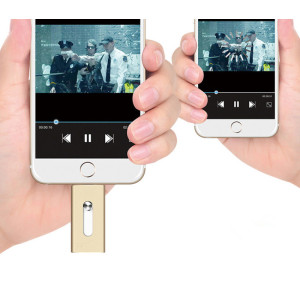 8GB OTG USB flash drive for Iphone 3 in 1