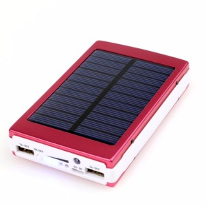 15000mah Portable Solar Power Bank for Cell Phone
