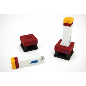 16GB PVC USB Flash Drive