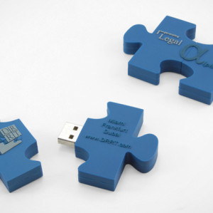 16GB USB Flash Drive PVC USB Memory for Pormotional Gif