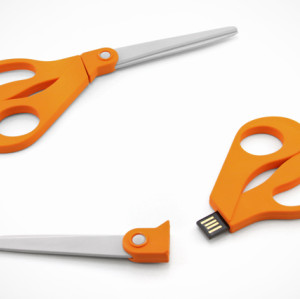 8GB PVC Scissors Shape USB Flash Stick USB Drive