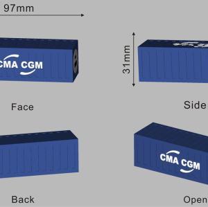 Custom PVC Power Bank Container Shape