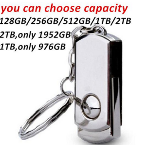 Free Sample, accept Paypal Metal USB Flash Memory